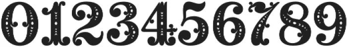 MFC Noir Monogram Regular otf (400) Font OTHER CHARS