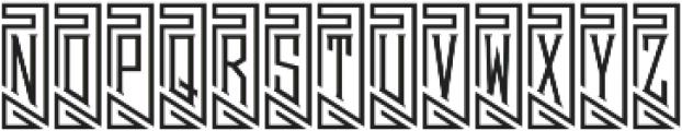 MFC Piege Monogram Un Regular otf (400) Font LOWERCASE