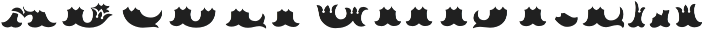 MFC Redding Monogram Bottom otf (400) Font LOWERCASE