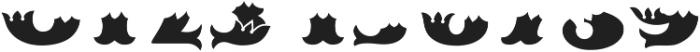 MFC Redding Monogram Bottom ttf (400) Font OTHER CHARS