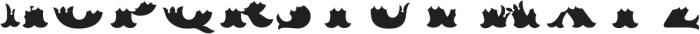MFC Redding Monogram Bottom ttf (400) Font UPPERCASE