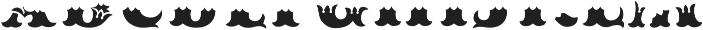 MFC Redding Monogram Bottom ttf (400) Font LOWERCASE