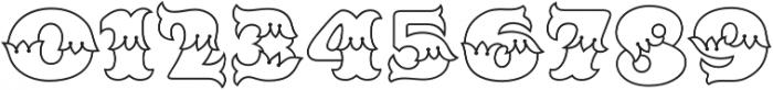 MFC Redding Monogram Clear otf (400) Font OTHER CHARS