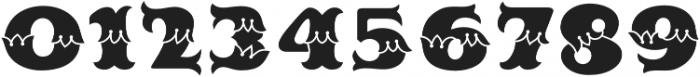 MFC Redding Monogram Fill otf (400) Font OTHER CHARS