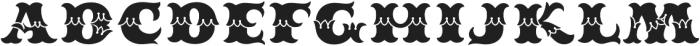 MFC Redding Monogram Fill otf (400) Font UPPERCASE