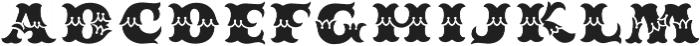 MFC Redding Monogram Fill otf (400) Font LOWERCASE