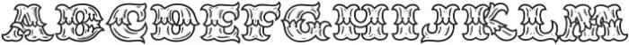 MFC Redding Monogram Regular otf (400) Font LOWERCASE