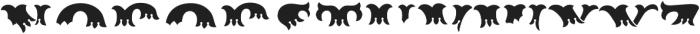 MFC Redding Monogram Top otf (400) Font UPPERCASE