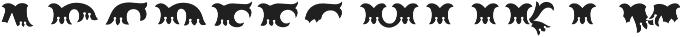 MFC Redding Monogram Top otf (400) Font LOWERCASE