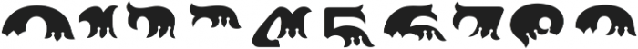 MFC Redding Monogram Top ttf (400) Font OTHER CHARS