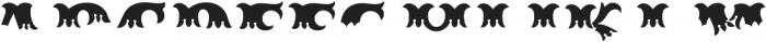 MFC Redding Monogram Top ttf (400) Font UPPERCASE