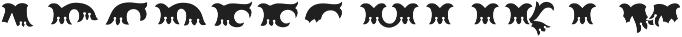 MFC Redding Monogram Top ttf (400) Font LOWERCASE