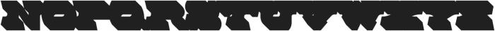 MFC Rodizio Extruded otf (400) Font LOWERCASE