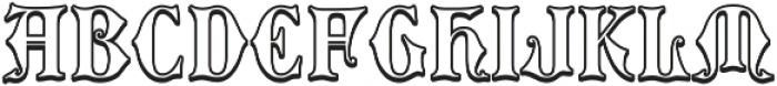MFC Royaume Monogram Outline Regular otf (400) Font LOWERCASE
