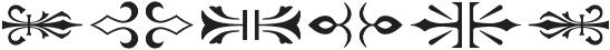 MFC Royaume Monogram Solid Regular otf (400) Font OTHER CHARS