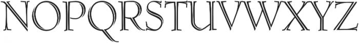MFC Ruse Monogram Regular otf (400) Font UPPERCASE
