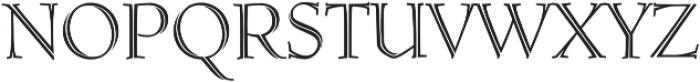 MFC Ruse Monogram Regular otf (400) Font LOWERCASE