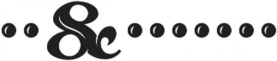 MFC Sansome Monogram Regular otf (400) Font OTHER CHARS