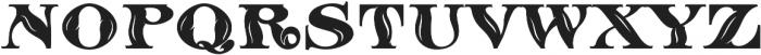 MFC Sansome Monogram Regular otf (400) Font UPPERCASE
