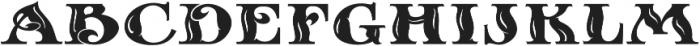 MFC Sansome Monogram Regular otf (400) Font LOWERCASE