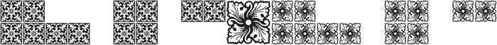 MFC Spindler Borders otf (400) Font LOWERCASE