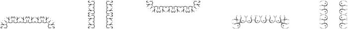 MFC Stencil Borders One A otf (400) Font UPPERCASE