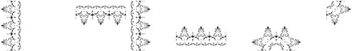 MFC Stencil Borders Three A otf (400) Font OTHER CHARS