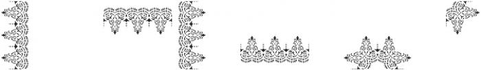MFC Stencil Borders Three Regular otf (400) Font OTHER CHARS