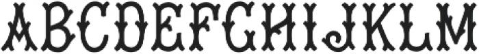 MFC Tagliato Monogram Solid Regular otf (400) Font LOWERCASE