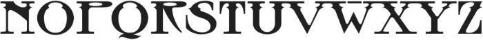 MFC Tattersaw Monogram Regular otf (400) Font UPPERCASE