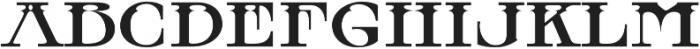 MFC Tattersaw Monogram Regular otf (400) Font LOWERCASE