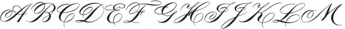 MFC Tryst Monogram Regular otf (400) Font UPPERCASE