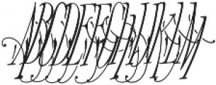 MFC Voyeur Monogram 250 Impressions otf (400) Font UPPERCASE