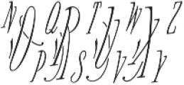 MFC Voyeur Monogram 250 Impressions otf (400) Font LOWERCASE