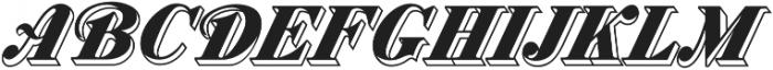 MFC Westport Monogram Regular otf (400) Font LOWERCASE