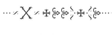 MFC Chaplet Monogram Chroma Font OTHER CHARS