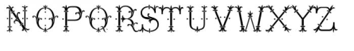 MFC Chaplet Monogram Chroma Font UPPERCASE