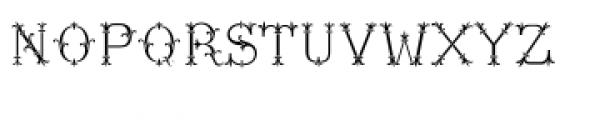 MFC Chaplet Monogram Chroma Font LOWERCASE