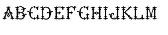 MFC Chaplet Monogram Solid Font LOWERCASE