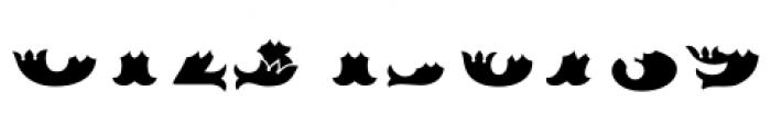 MFC Redding Monogram Bottom Font OTHER CHARS