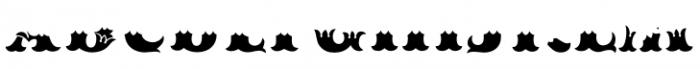 MFC Redding Monogram Bottom Font UPPERCASE