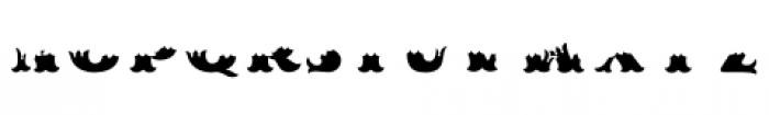 MFC Redding Monogram Bottom Font LOWERCASE