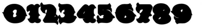 MFC Redding Monogram Extruded Font OTHER CHARS