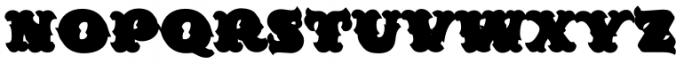 MFC Redding Monogram Extruded Font UPPERCASE
