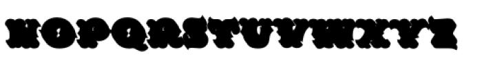 MFC Redding Monogram Extruded Font LOWERCASE