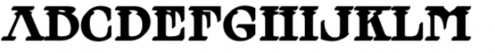 MFC Tattersaw Monogram Extruded Font UPPERCASE