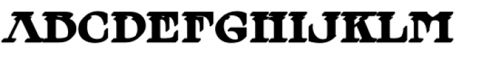 MFC Tattersaw Monogram Extruded Font LOWERCASE