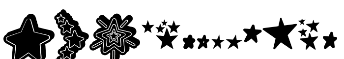 MF Star Dings 2 Regular Font UPPERCASE