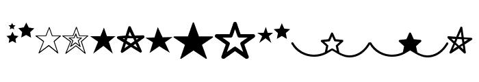 MF Star Dings Regular Font UPPERCASE
