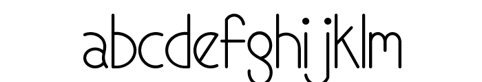 Mf Candy Font LOWERCASE